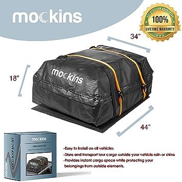 Amazon.com: Mockins - Bolsa de techo impermeable con una ...