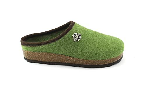 GRUNLAND Sara CB0169 Verde Ciabatte Pantofole Donna Plantare Feltro Lana  41  Amazon.it  Scarpe e borse dfb80f50da2