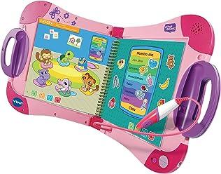 VTech - Sistema de Aprendizaje Interactivo, MagiBook, Color Rosa, versión española (80