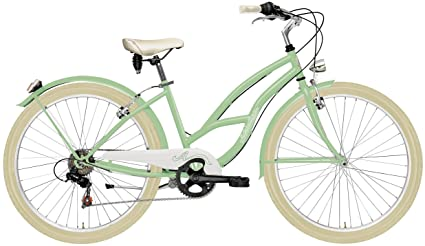 CICLI ADRIATICA Bicicleta Cruiser de Mujer, Estructura de Acero ...