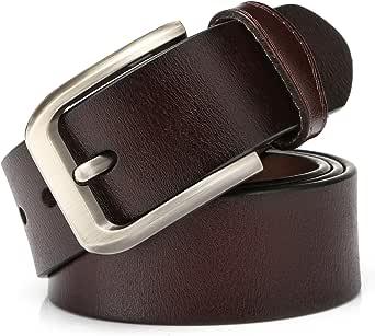 KeeCow Cinturones Para Hombre, Correa de Hebilla de Pin de ...