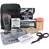 MediTac Premium IFAK Kit - Feat. Trauma Pak, CAT Tourniquet, HyFin Vent Chest Seal, Israeli Bandage - Black
