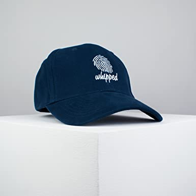 b0c70a8e48720 Hatty Hats Embroidery Whipped Embroidered Baseball Cap Navy Feminist  Patches Feminism Embroidery