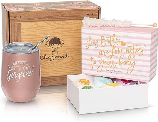 Amazon.com: Cajas de cumpleaños., Rose gold: Kitchen & Dining