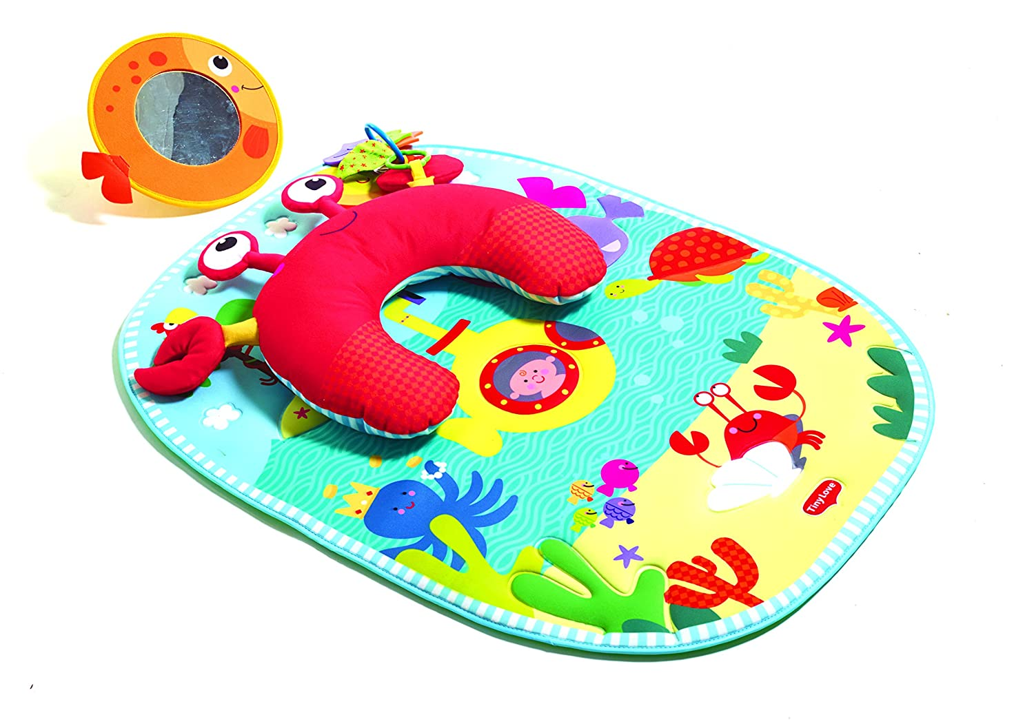 Tiny Love Tummy Time Under The Sea Playmat