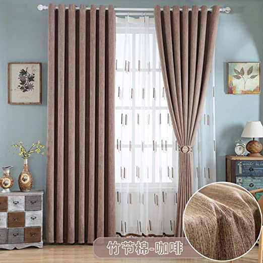 Cortinas de algodon salon