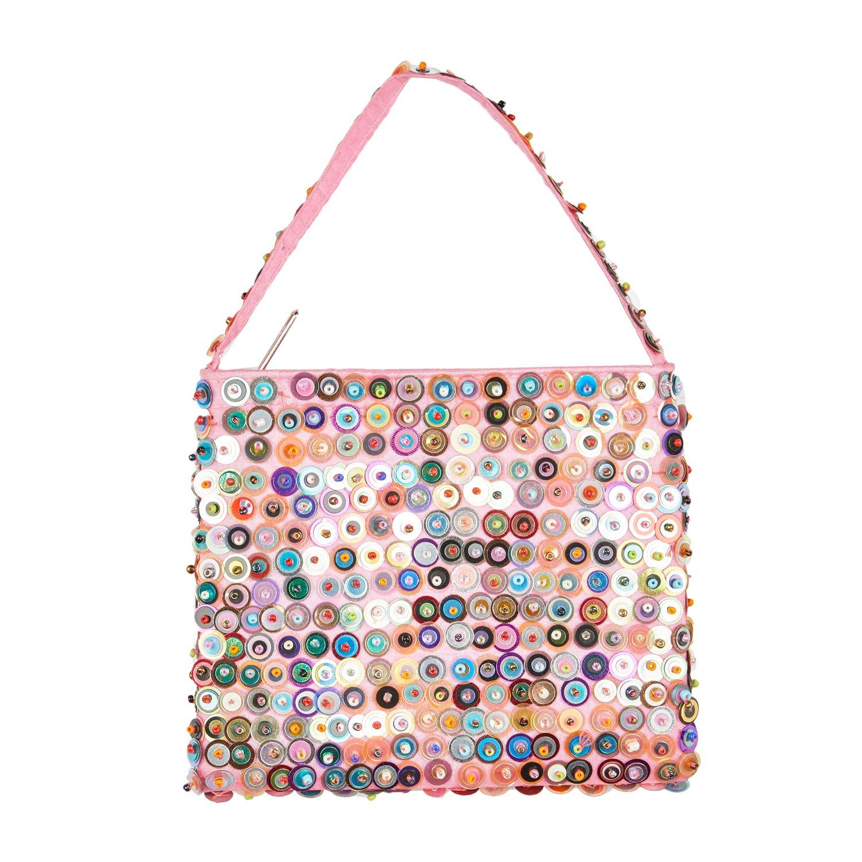 Amazon.com: shu-shi poco lentejuelas bolso bolsa para las ...
