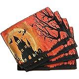 Granite Mountain Decor: Halloween Placemats - Set of 4