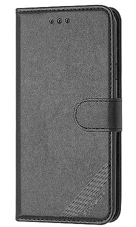 kazineer Funda Samsung S4, Galaxy S4 Funda de Cuero Cartera Carcasa para Samsung Galaxy S4 Case - Negro