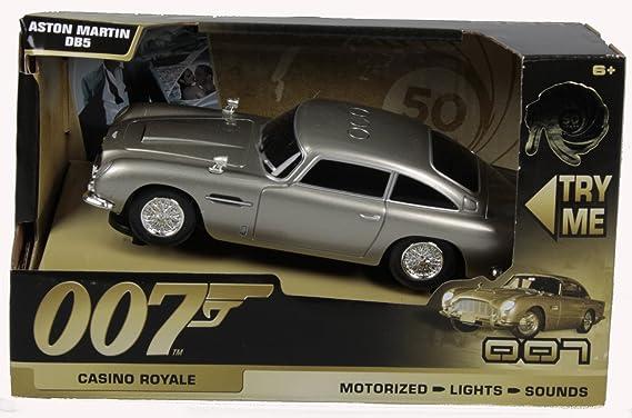 Toy State 62012 James Bond 007 Aston Martin Db5 Mit Licht Sound Und Fahrfunktion Amazon De Spielzeug
