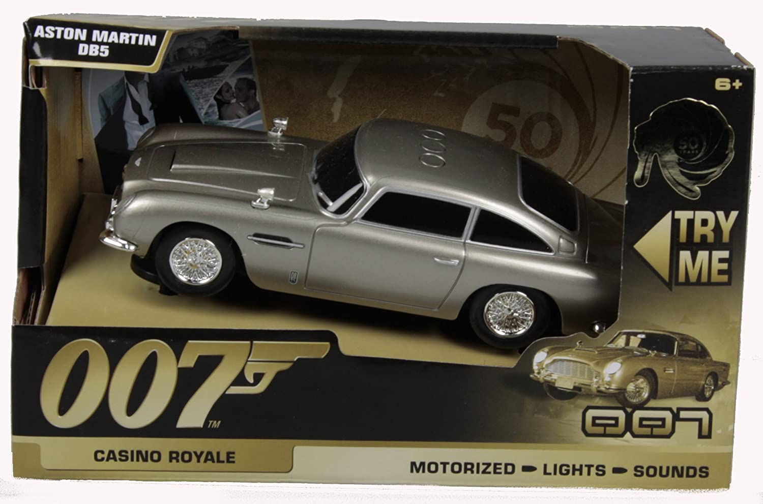 James Bond 50th Anniversary Aston Martin DB5, 15cm  Casino Royale:  Amazon.co.uk: Toys U0026 Games