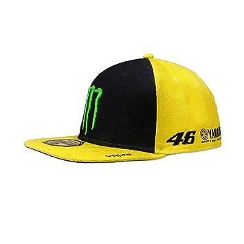 VR46 Hombre Rossi Flat Cap del patrocinador, Yellow, One Size: Amazon.es: Deportes y aire libre