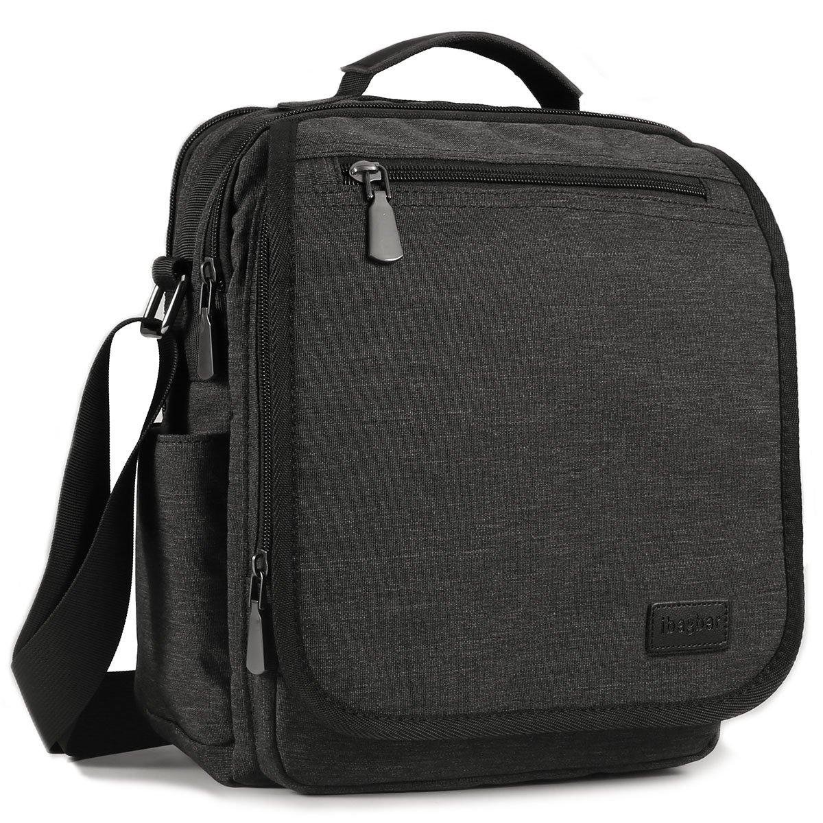 Ibagbar Small Messenger Bag Shoulder Crossbody Work