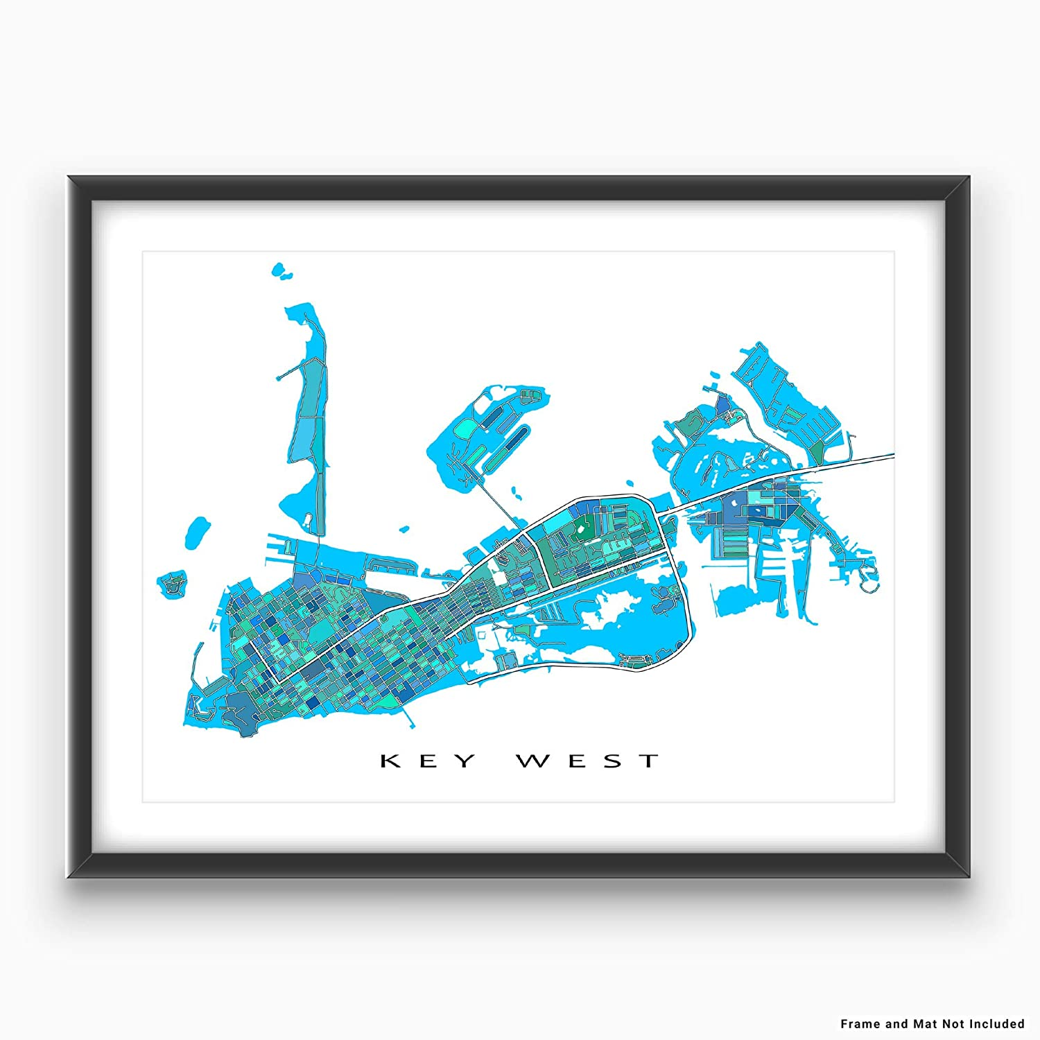 Amazon.com: Key West Map Print, Florida Keys USA, Street Art Poster on key west cemetery, key west maps and brochures, key west aerial view, key west bars and restaurants, key west mapquest, key west truman waterfront park, key west maps to print, key west town, key west fl street map, key west trolley route, key west weather 10 day, key west naval base 1970, key west beaches, key west city, key west historic seaport restaurants, key west shopping stores, key west fishing maps, key west fishing trips, key west street view,