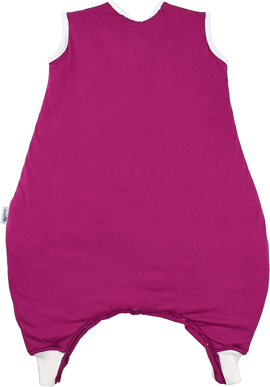 Diff/érentes couleurs et tailles diff/érentes de la naissance jusqu/à 6 ans Slumbersac Sac de couchage standard avec pieds 2,5 Tog