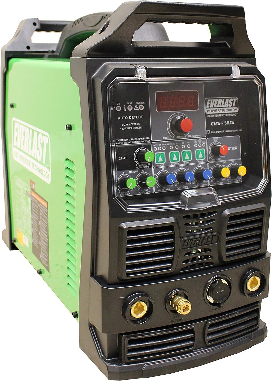 2019 Everlast PowerMIG 253Dpi GMAW-P//SMAW 250A 220v 1PH
