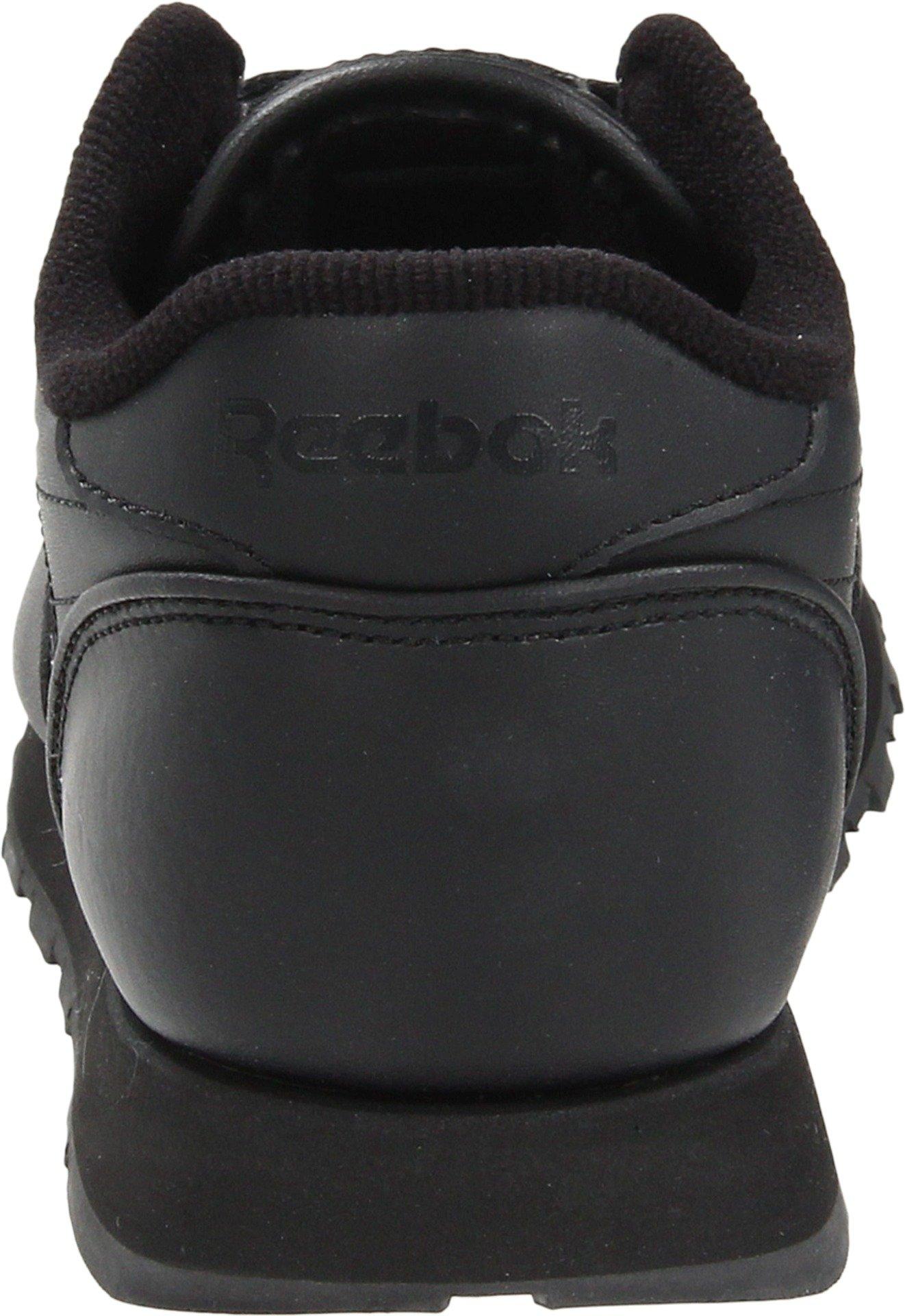 Reebok Classic Leather Shoe,Black/Black/Black,11.5 M US Little Kid by Reebok (Image #2)