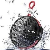 VTIN Q1 Bluetoothスピーカー 防水 IPX5防水仕様 防塵&防水 5W出力 大音量 8時間連続再生 高音質 内蔵マイク搭載 ポータブルスピーカー お風呂ワイヤレススピーカー 小型スピーカー アウトドア iPhone/Android対応