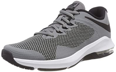 Nike Air Max Alpha Trainer Mens Aa7060-020 Size 7 Cool Grey Black 6d56baf77