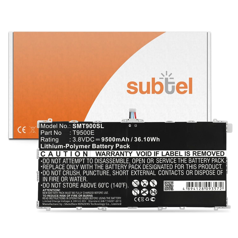 subtel/® Premium Akku kompatibel mit Samsung Galaxy Tab Pro 12.2 inkl 9500mAh Werkzeug-Set T9500E Ersatzakku Batterie Tabletakku