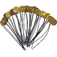 20PCS 12mm Piezo Elements Sounder Sensor Trigger Drum Disc+Wire Copper