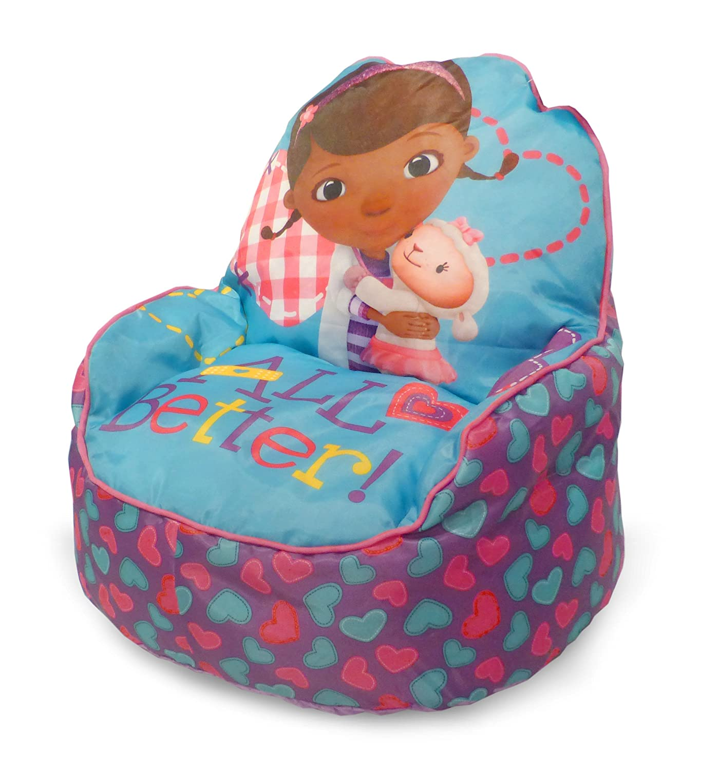Amazon.com: Disney Doc McStuffins Toddler Bean Bag Sofa Chair: Toys & Games - Amazon.com: Disney Doc McStuffins Toddler Bean Bag Sofa Chair