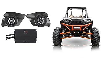 2014 – 2017 Polaris RZR 1000/900S/Turbo Kicker altavoces + Pods + Amplificador
