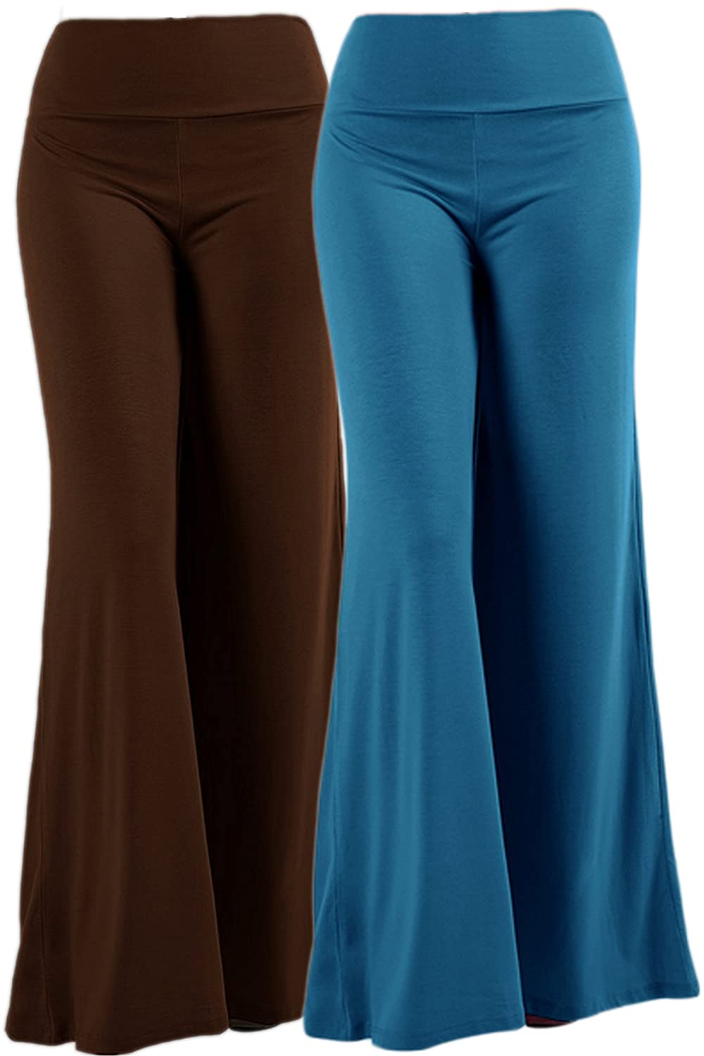 c5cb8f7964d FABRIC COMPOSITION  Our wide-leg palazzo pants for women are available in 3  different styles   fabric options. Please refer to color option.