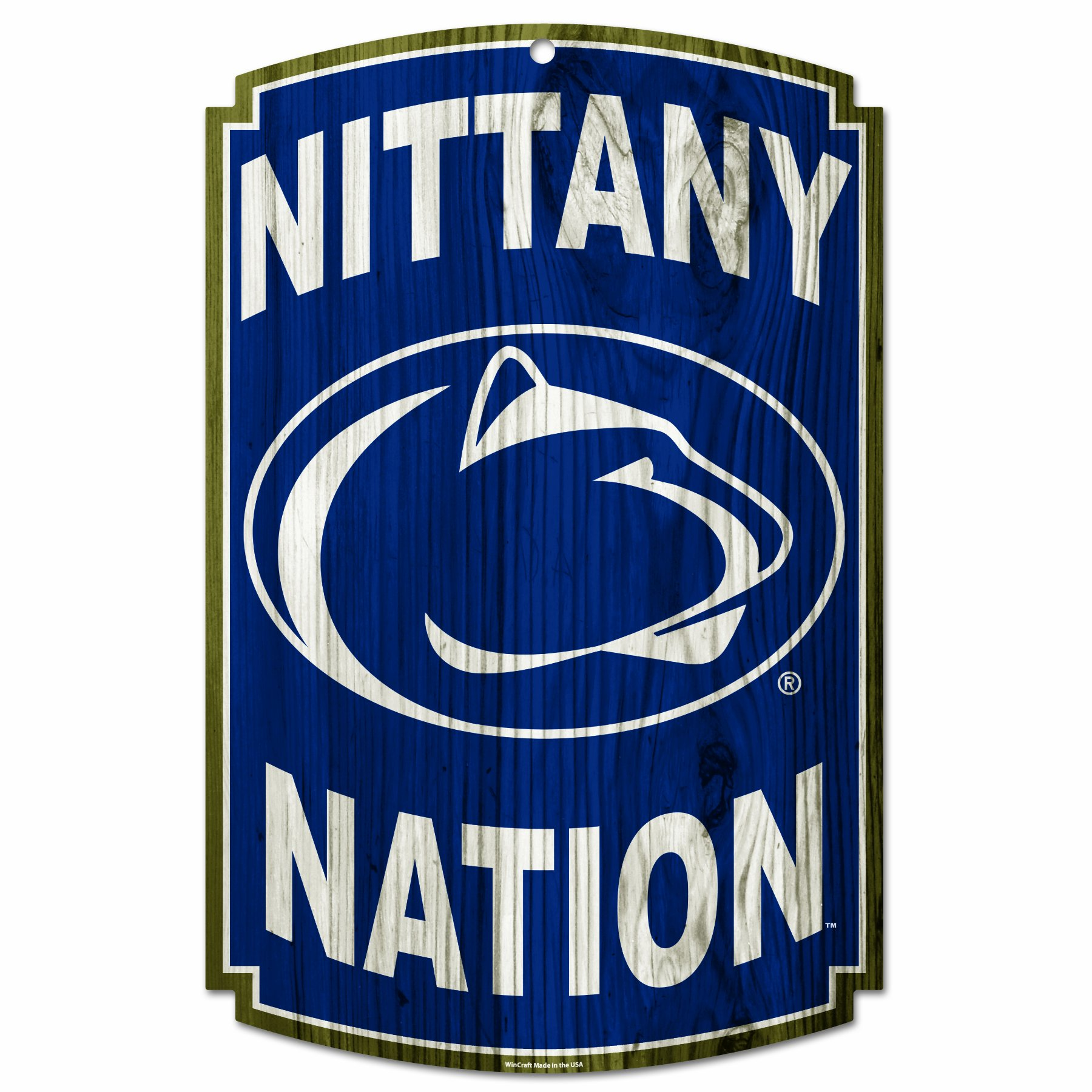 NCAA Penn State Nittany Lions Wood Sign by WinCraft