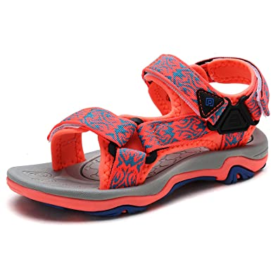 6a68b9ec34e DREAM PAIRS Toddler 170892-K Coral Royal Blue Outdoor Summer Sandals Size 8  M US
