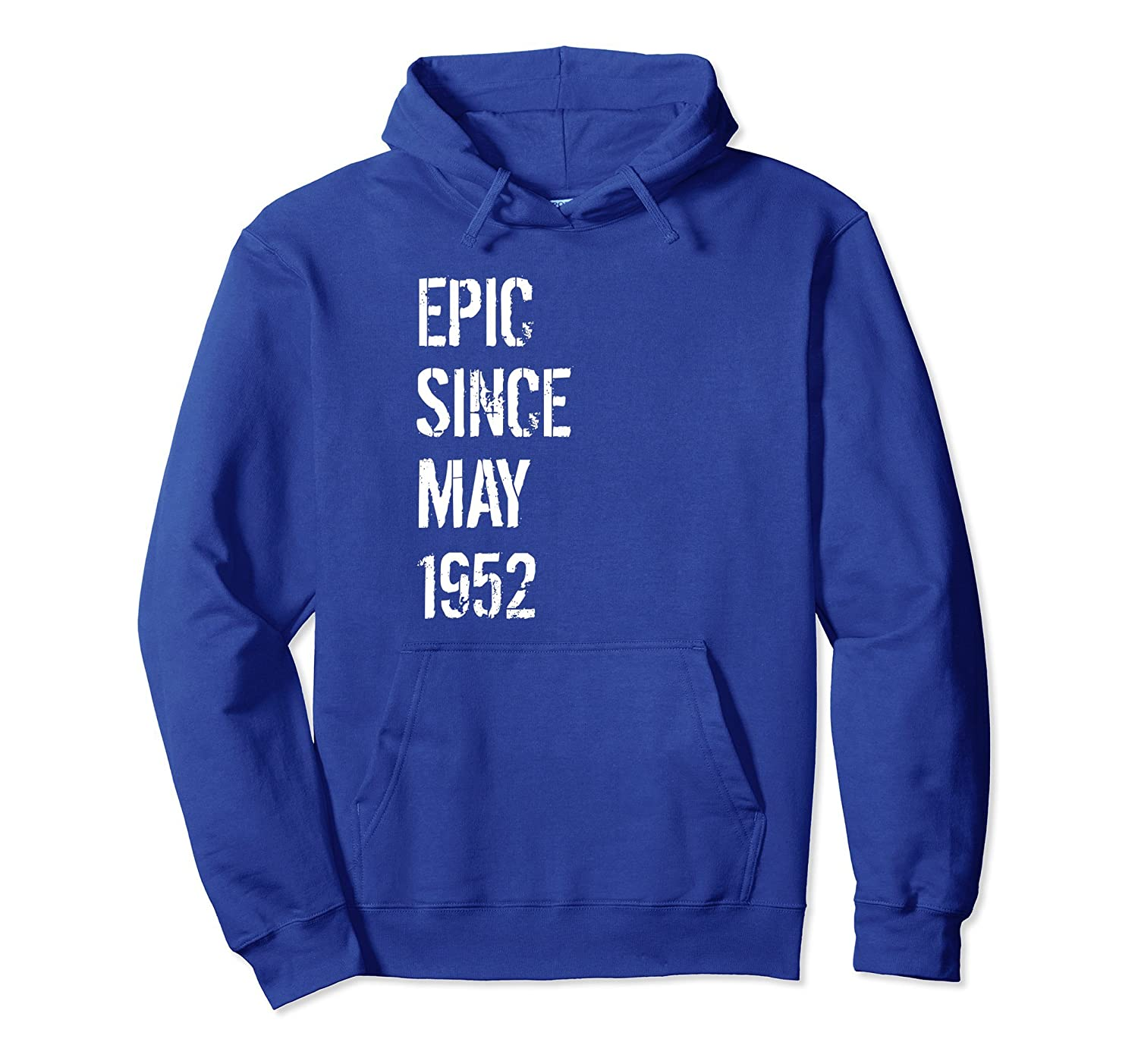 66th Birthday Gift Hoodie for Men & Women Born In May 1952-alottee gift