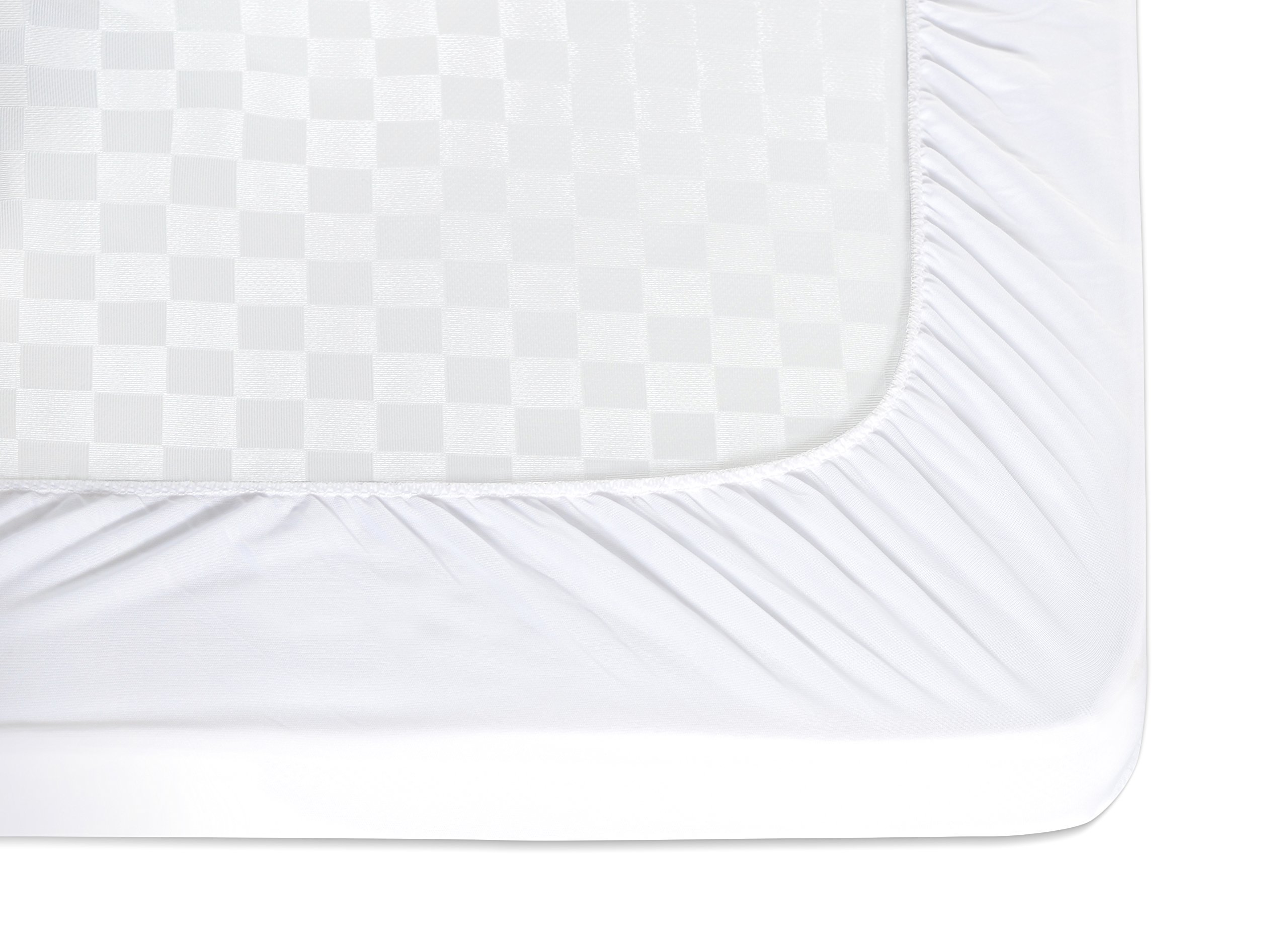 MILLIARD Quilted, Waterproof Crib & Toddler Mattress Protector Pad, Premium Hypoallergenic Fitted Cover with Extra Padding 28x52x6 by Milliard (Image #7)
