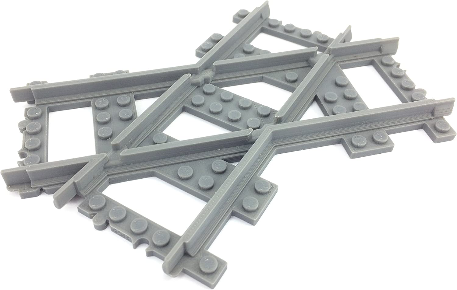 R104 curved track compatible with Lego Train 60197 60198 60205