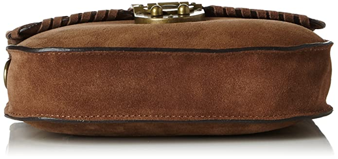 Womens Mit Praktischem Innenleben Bag, Brown (220 Rust Brown), 5x20x23 cm (b x h x t) Esprit