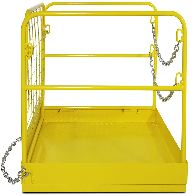 Titan Attachments Forklift Safety Cage Work Platform