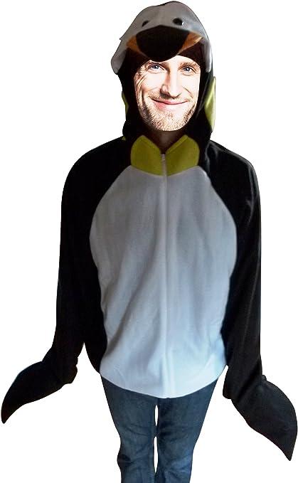 Ikumaal F116 Disfraz de pingüino, M, para Hombres y Mujeres ...