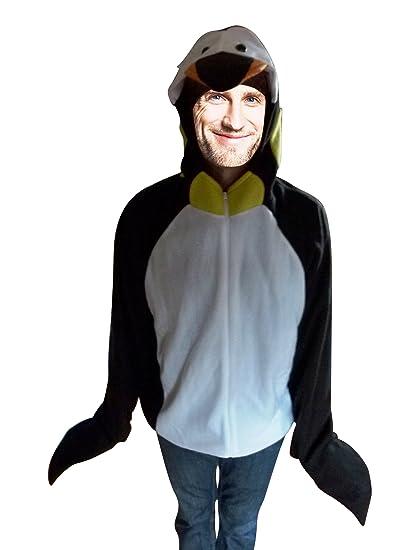 Ikumaal F116 Disfraz de pingüino, XL, para Hombres y Mujeres ...