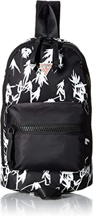 GUESS Originals BlackWhite Mini Backpack