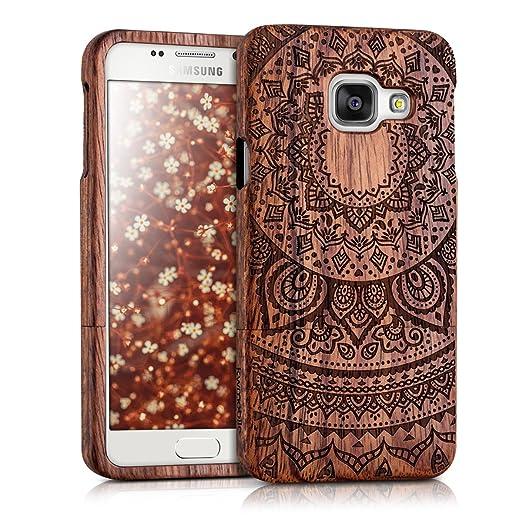 6 opinioni per kwmobile Custodia in legno per Samsung Galaxy A3 (2016) Cover legno naturale