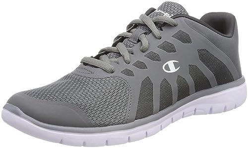 Champion Low Cut Shoe Alpha, Zapatillas de Running para Mujer,Azul (Navy/Lime Bs518),42.5 EU