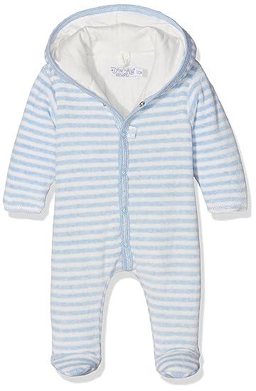 ac6390277 Dirkje Baby Boys' 31X-26247H-Babysnowsuit with padding-56 Snowsuit, Bleu  (Light Blue Melee Stripe), 0-3 Months (Size: 56): Amazon.co.uk: Clothing