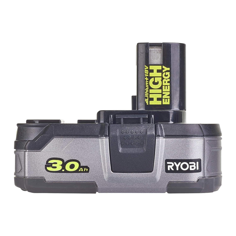 18 V, 3 Ah, 18 V Ryobi ONE+ RB18L30 color verde Bater/ía