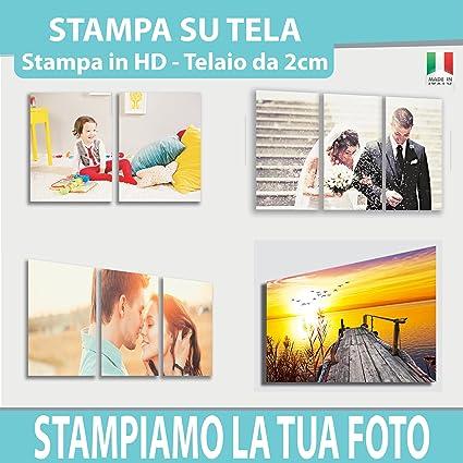 d5dba95abc Quadro Moderno PERSONALIZZATO CON TUA FOTO - Tantissime Misure e Formati  Disponibili - Stampa su Tela Canvas in ...