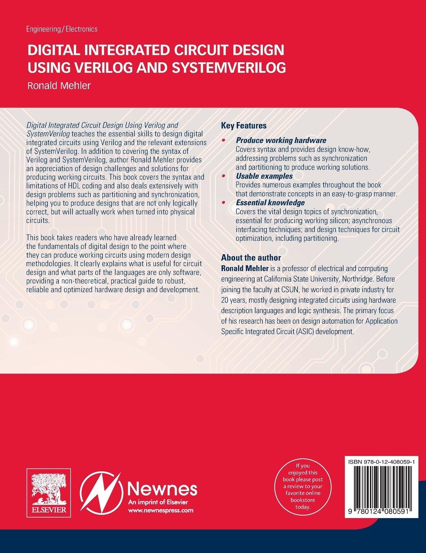 digital integrated circuit design using verilog and systemverilog rh amazon co uk