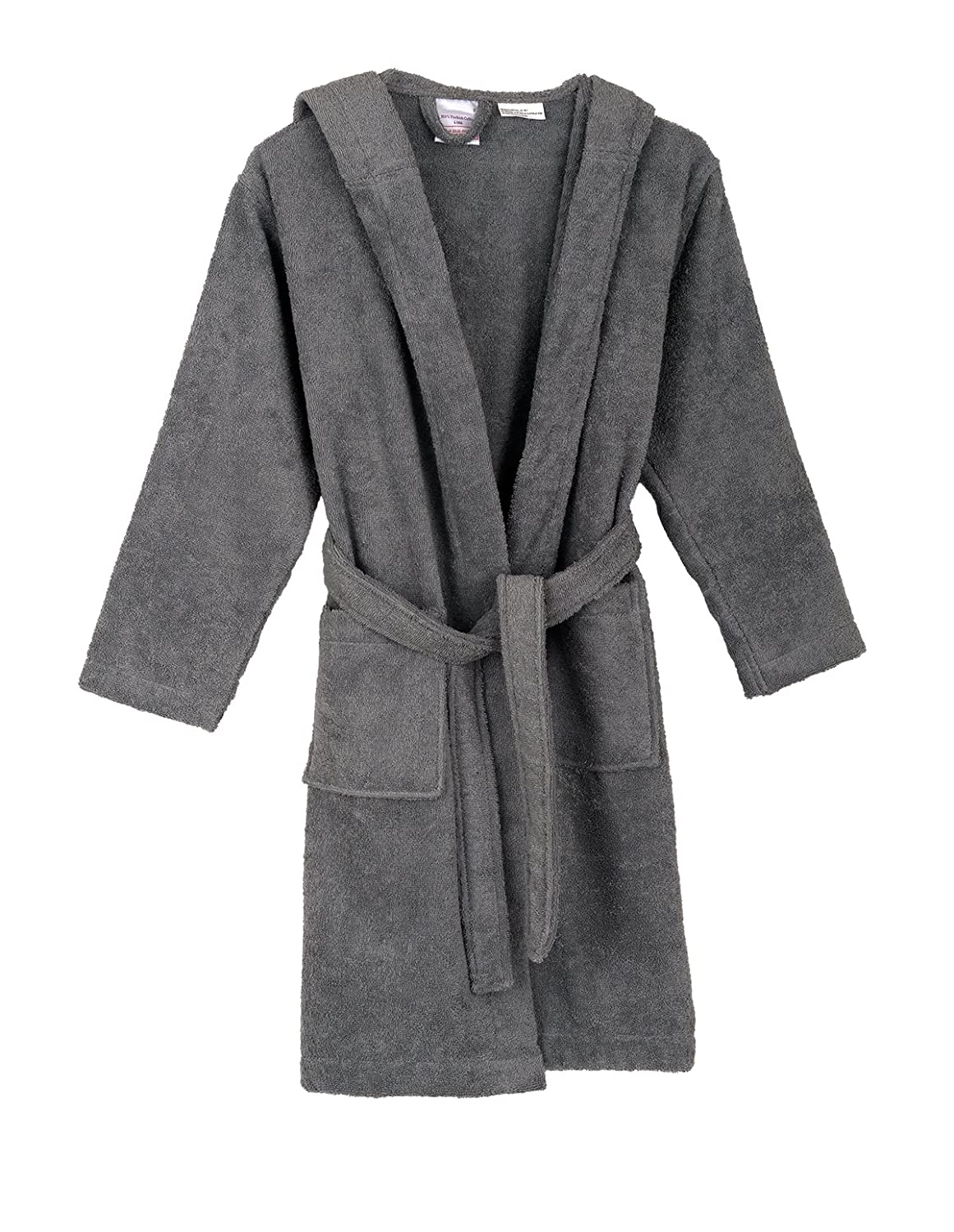 TowelSelections Boys Robe Kids Hooded Cotton Terry Bathrobe Made in Turkey