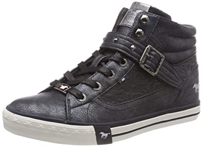 MUSTANG Damen High Top Hohe Sneaker