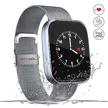 Monitor de actividad,reloj inteligente de fitness,pantalla HD,monitor de actividad con
