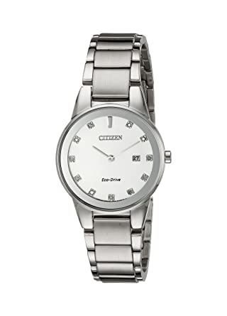 34c4372c515 Amazon.com  Citizen Women s Eco-Drive Axiom Watch with Diamond Accent