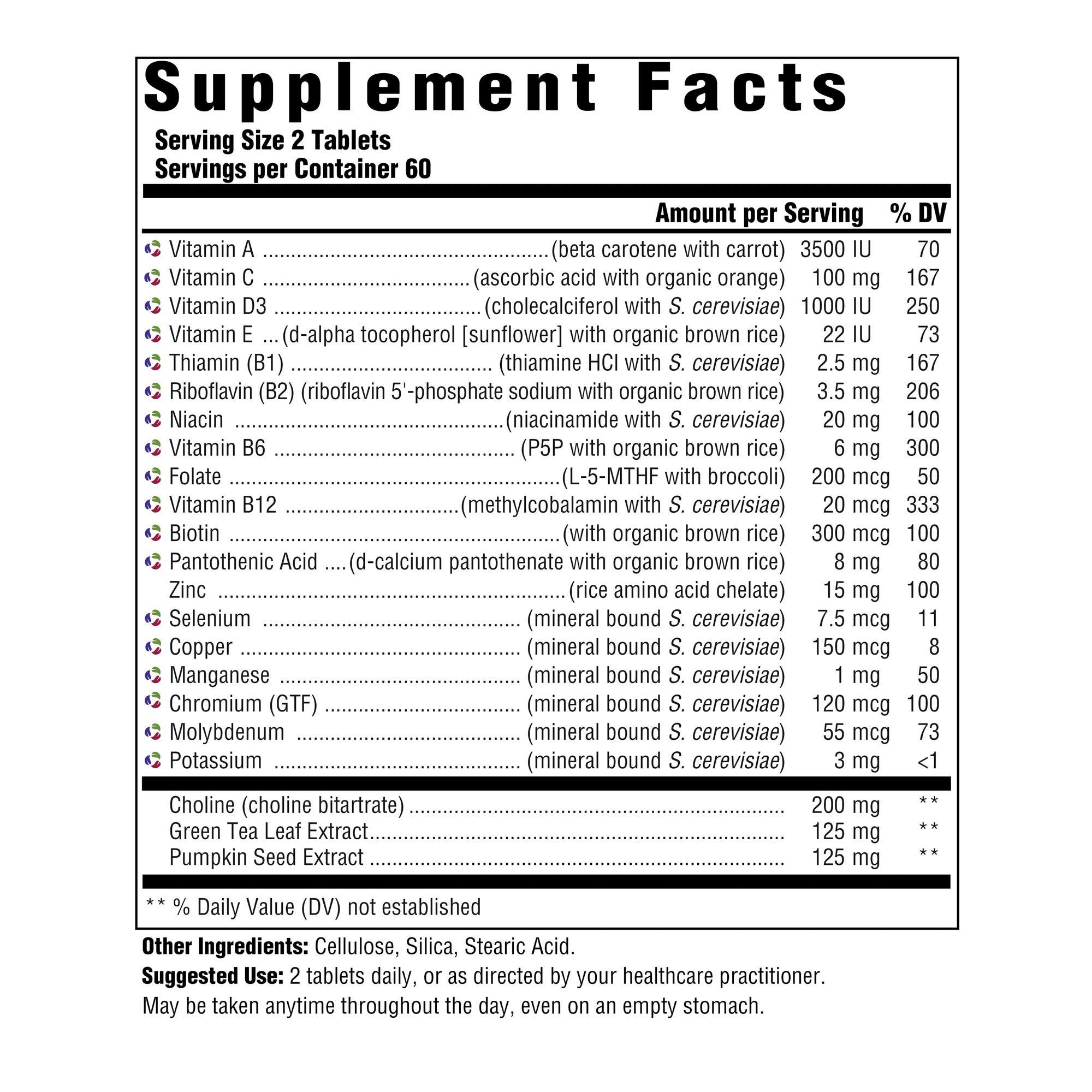 INNATE Response Formulas - Men's 55+ Multi, 120 Tablets by INNATE Response Formulas (Image #3)
