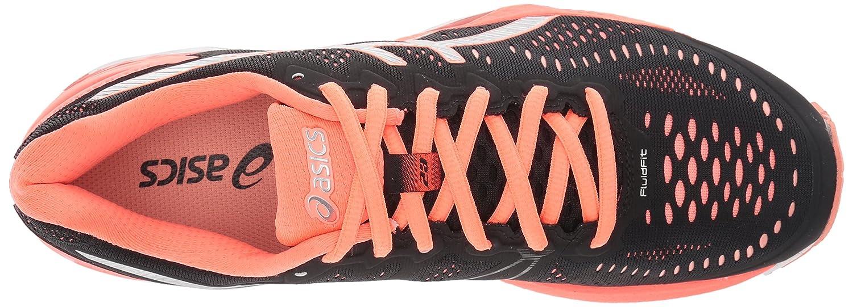 ASICS Women's Gel-Kayano 23 Running Shoe Coral B017UT02HE 5.5 B(M) US|Black/Silver/Flash Coral Shoe c2cd8f